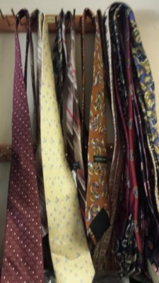 Ties at a Thrift Store